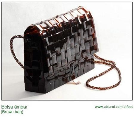 ideia de bolsas recicladas