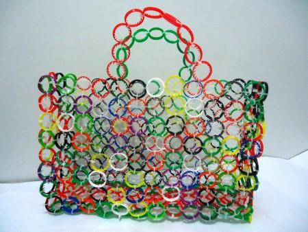 opção de bolsas recicladas