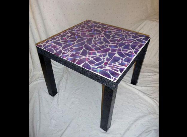mosaico em mesa de cozinha