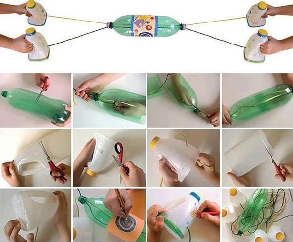 Reciclagem No Meio Ambiente 10 Brinquedos De Sucata F Ceis De Fazer