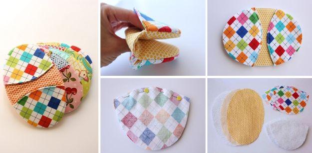 pegador de panela de retalho de tecido