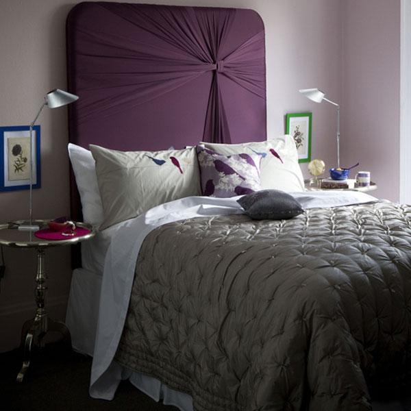 cabeceira de cama de seda