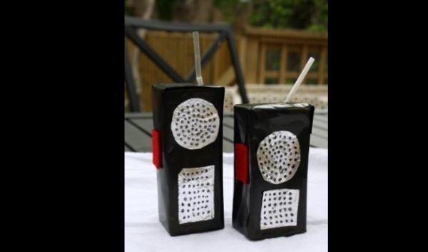 radio de caixa de leite