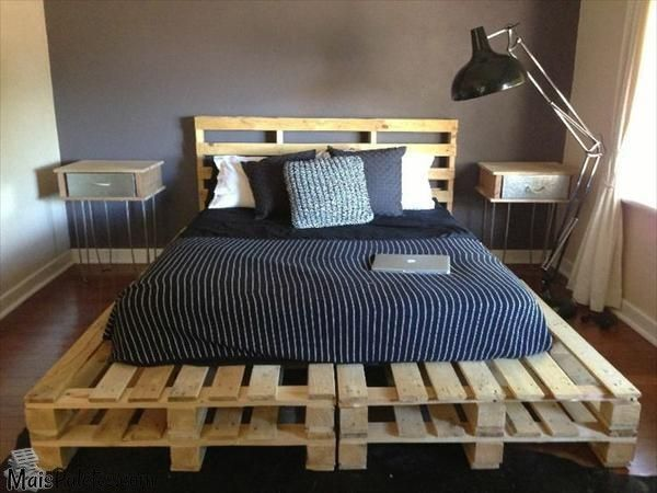 movel reciclado cama pallet