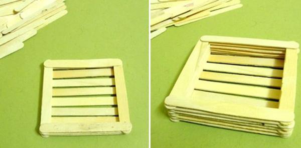artesanato com palito de picolé como fazer