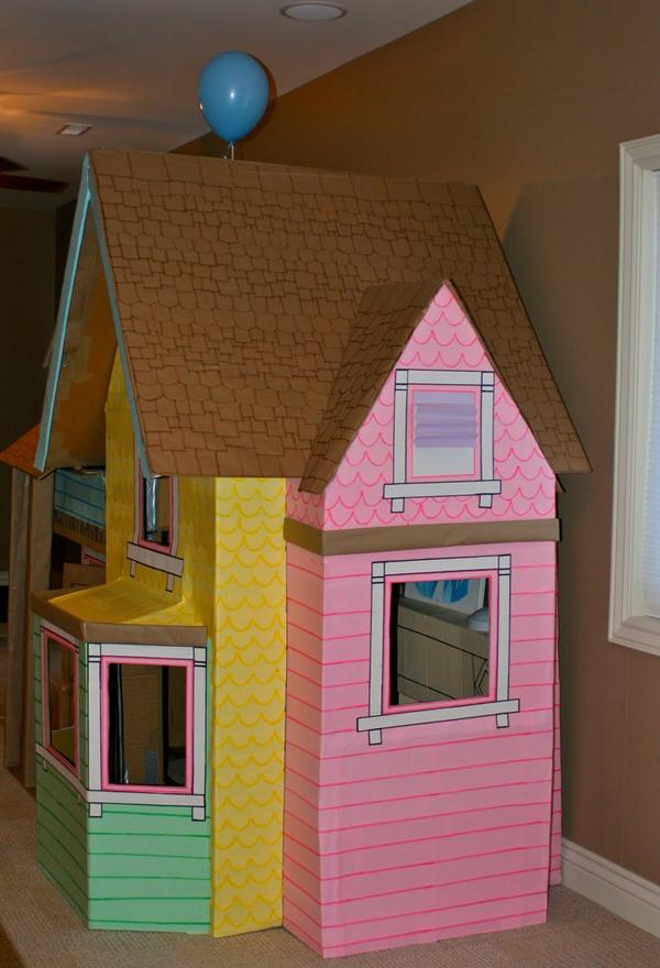 casa de papelao elaborada