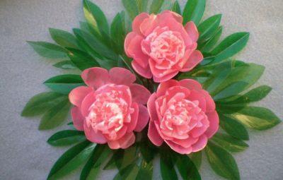 flor de pet rosas