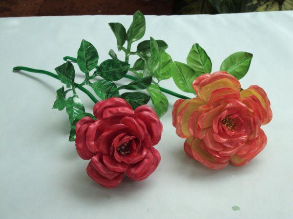 flor de pet rosa