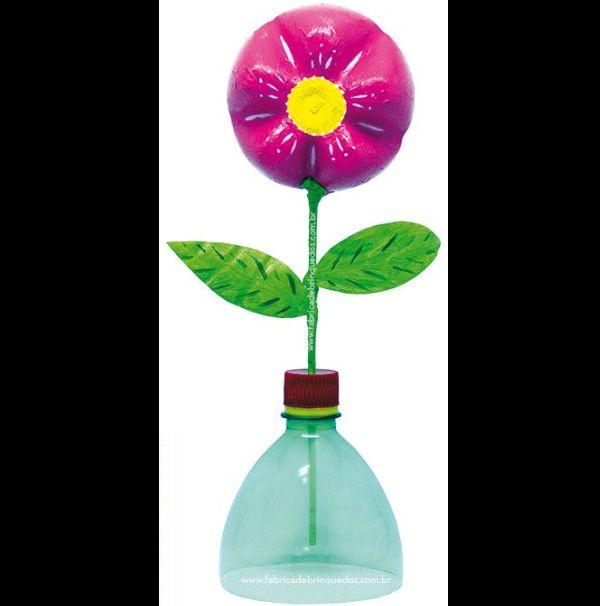 flor de pet simples