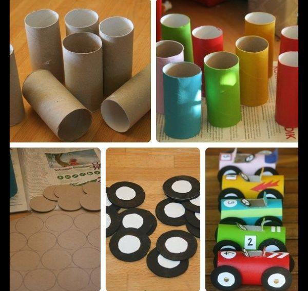 brinquedo reciclado carrinho