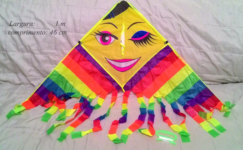 pipa de papel criativa