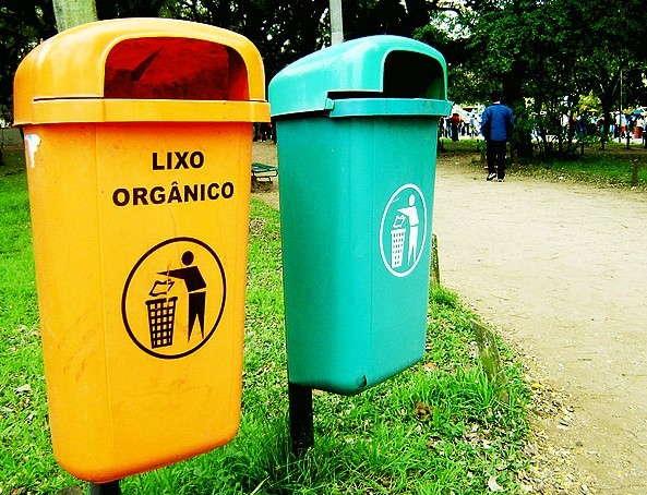 Coleta lixo inorganico