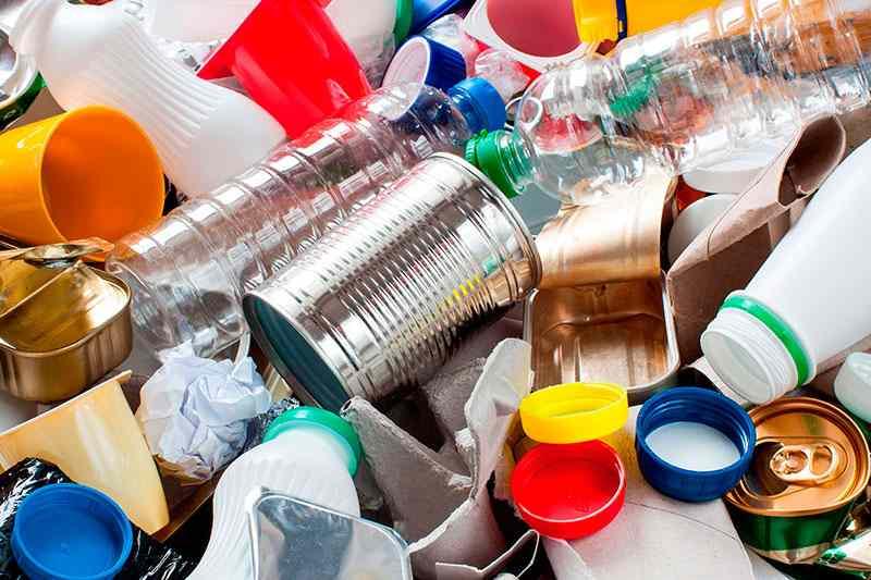 lixo reciclável