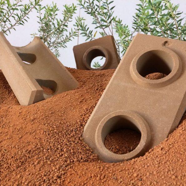 tijolo ecológico solo cimento