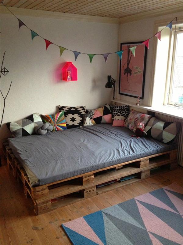 cama pallet infantil