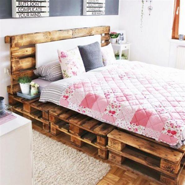 pallet delicado cama