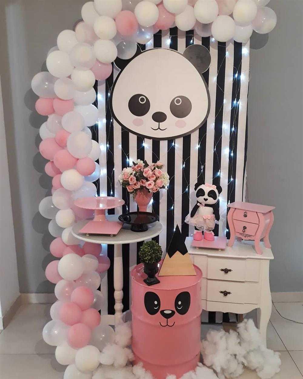 tambor na decoração de festa