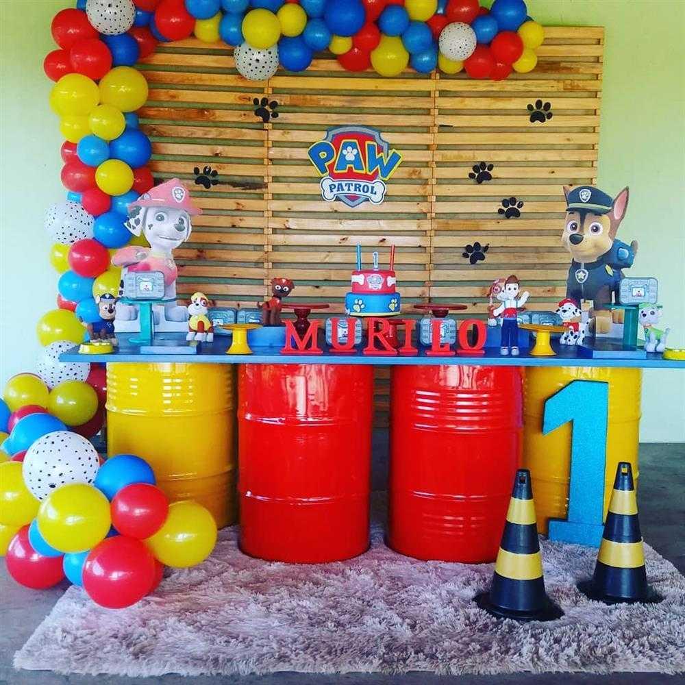 decorando festas com tambor