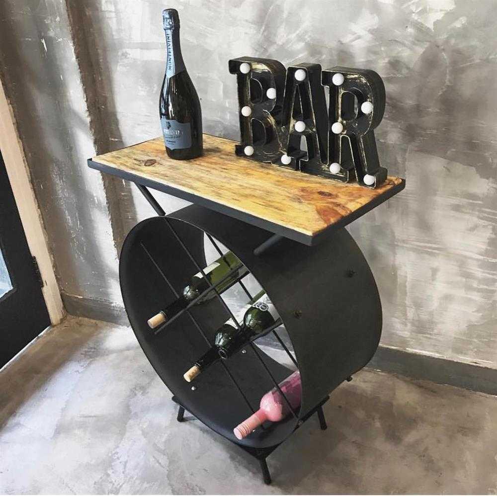 mesa bar de tambor