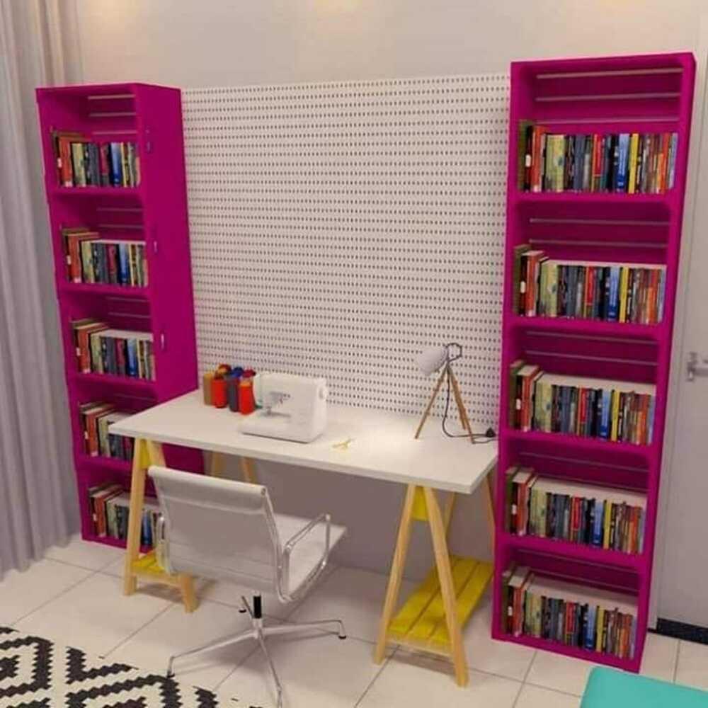 prateleira para livros