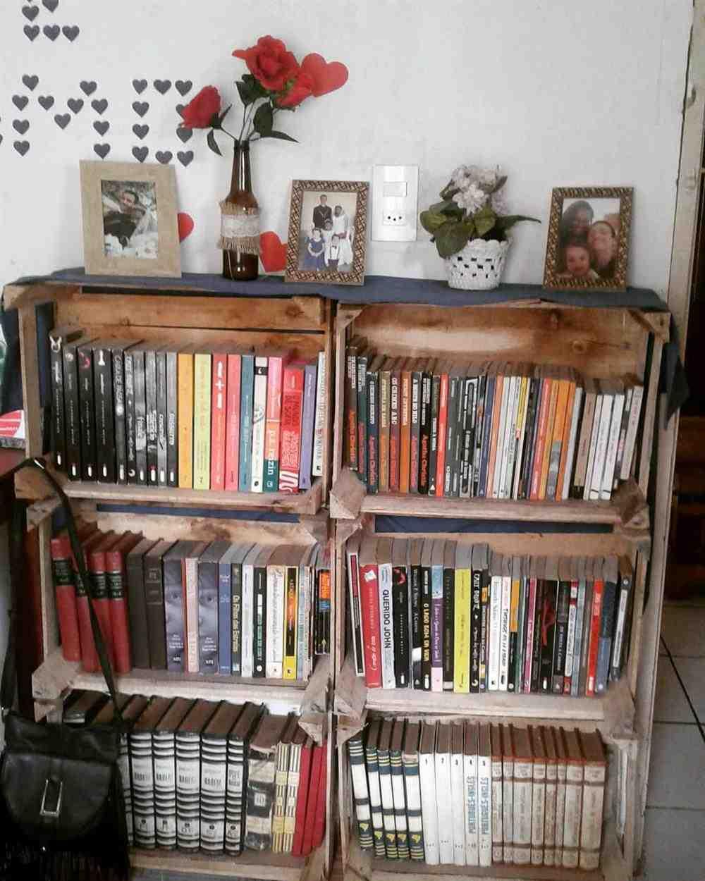 cantinho para livros