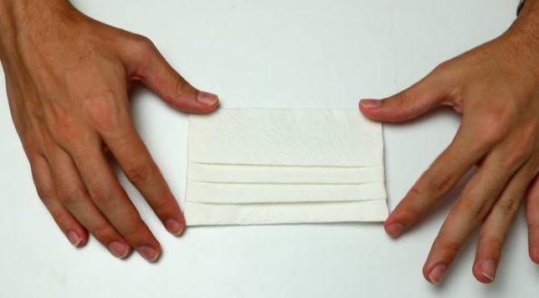 mascara de papel toalha modelo como fazer passo a passo