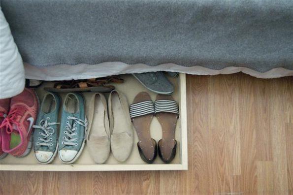 sapateira simples de gaveta