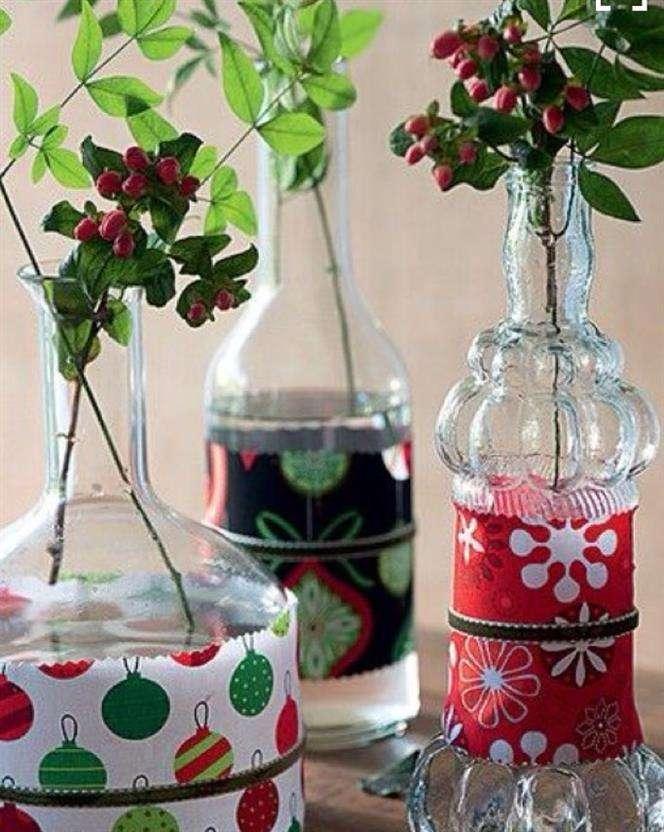 artesanato com garrafas para natsl