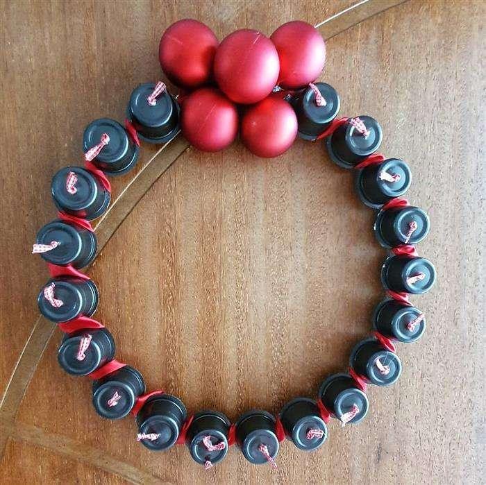 reciclagem com capsula de cafe