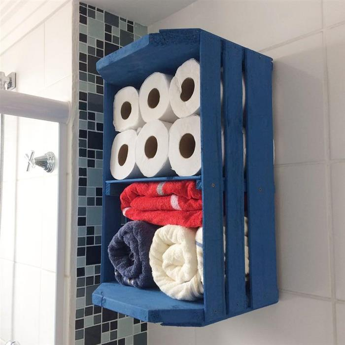 moveis de caixote para banheiro