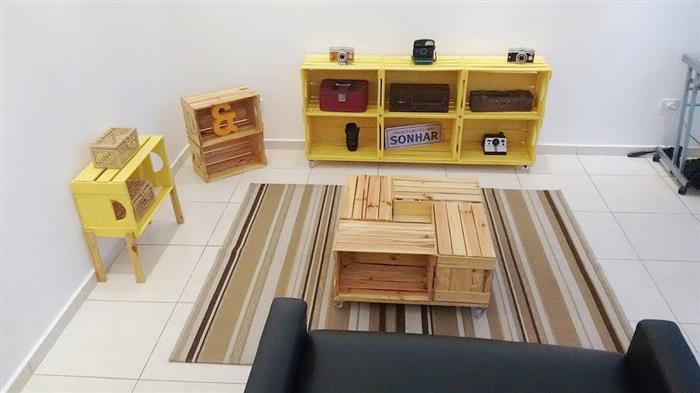 moveis de caixote para sala
